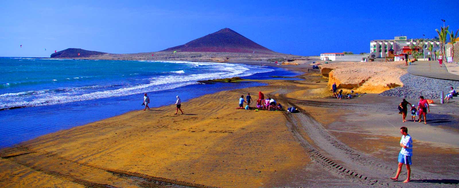 Тенерифе (пляж Эль Медано)