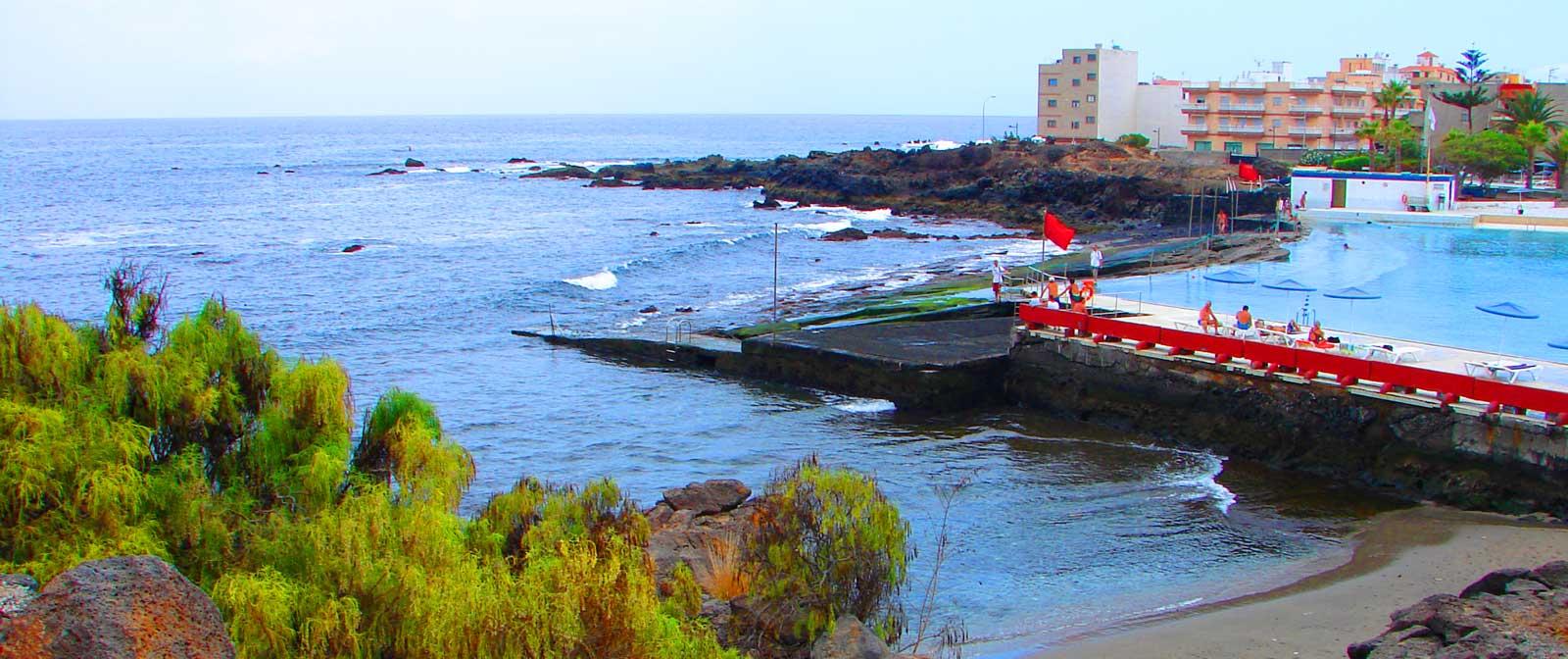 Тенерифе ( Пляж Тен Бель)