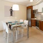 Кухня в апартаментах Виста Роха