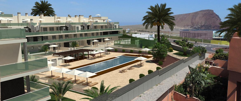 Апартаменты от застройщика (поселок Сотавенто) - панорама с видом на гору Роха